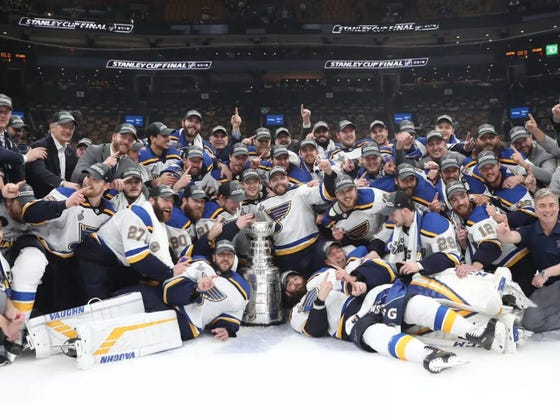 The Official Defending Stanley Cup Champion St. Louis Blues Season Preview
