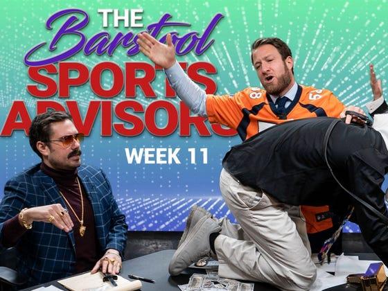 Barstool Sports Advisors NFL Week 11