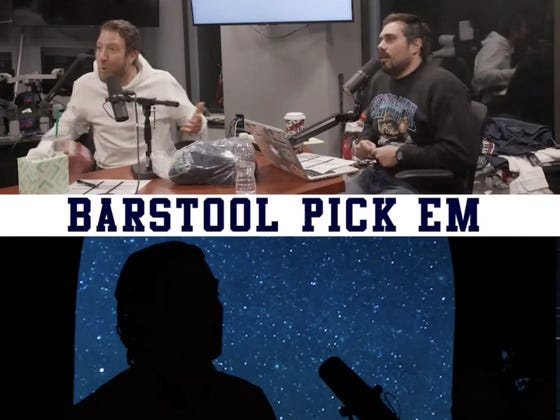 Barstool Pick Em Week 14 is LIVE