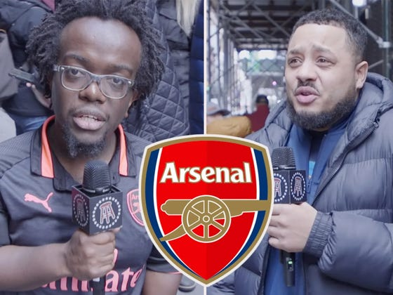 Troopz From AFTV Takes On Arsenal vs Man City In NYC