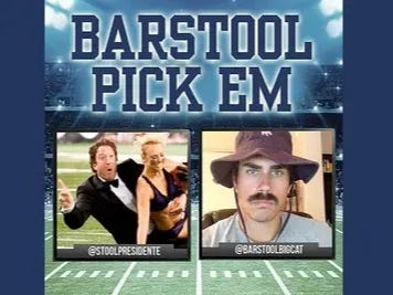 Barstool Pick Em Bowl Season Cards