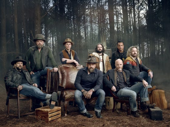 """Zac Brown Band Chose Barstool Sports to Exclusively Premiere Their New Music Video """"The Woods"""""""