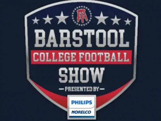 Barstool College Football Show: Playoff Predictions