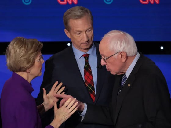 Bet 2020: First 4 Democratic Primary States, and General Election Odds